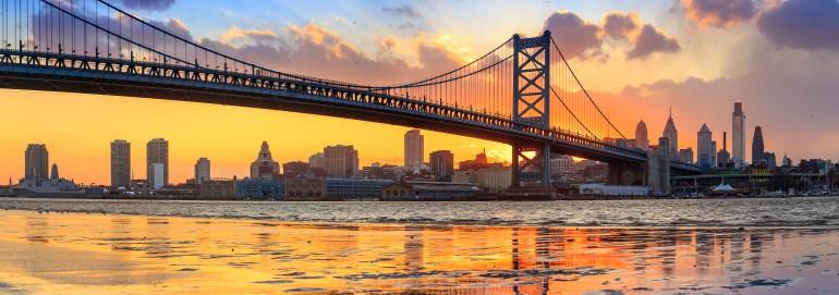 Panorama of Philadelphia