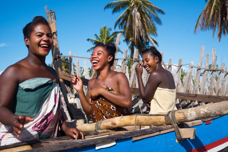 smiles of malagasy women